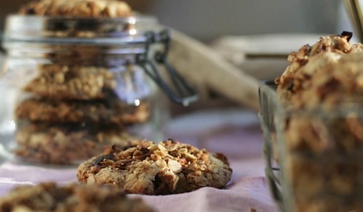 Apfel-Dinkel-Kekse
